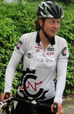 Lucy Johnson - first lady rider home
