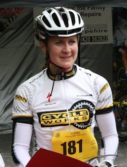 Emily Iredale - first lady rider home